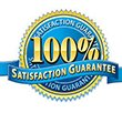 aragon moving systems 100% satisfaction guarantee logo